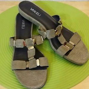 Vaneli leather sandals